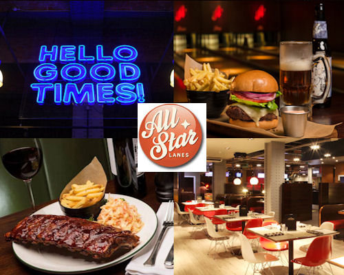 All Star Lanes -  Manchester