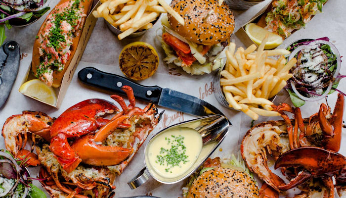 Restaurants near Manchester Arena ~ Burger & Lobster