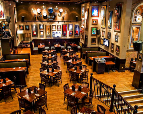 Hard Rock Cafe Manchester Christmas