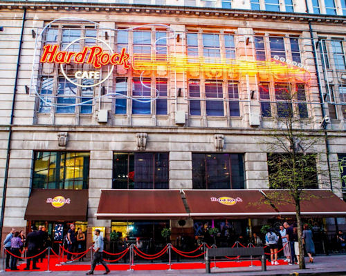Restaurants near Manchester Arena - Hard Rock Cafe Manchester