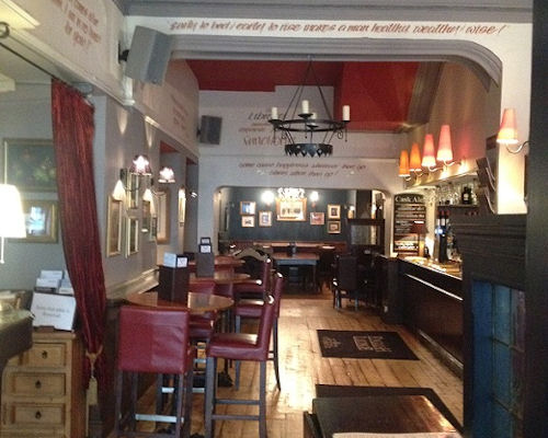 Northern Quarter Manchester restaurants - The English Lounge
