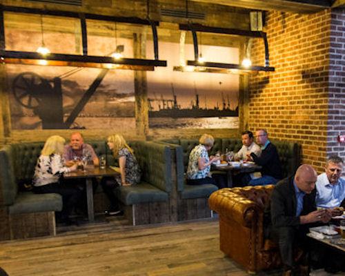 European Restaurants Manchester ~ The Dockyard Spinningfields