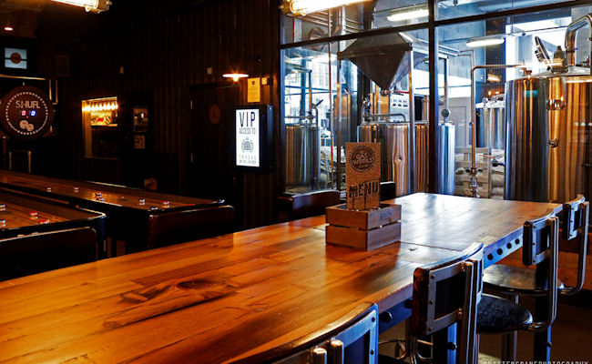 Manchester Restaurants ~ Gasworks Brew Bar