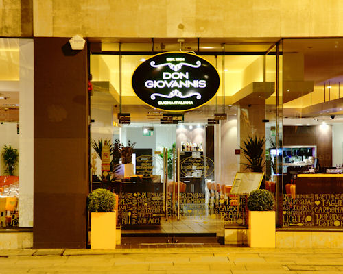 Italian Restaurants Near The Palace Theatre Manchester
