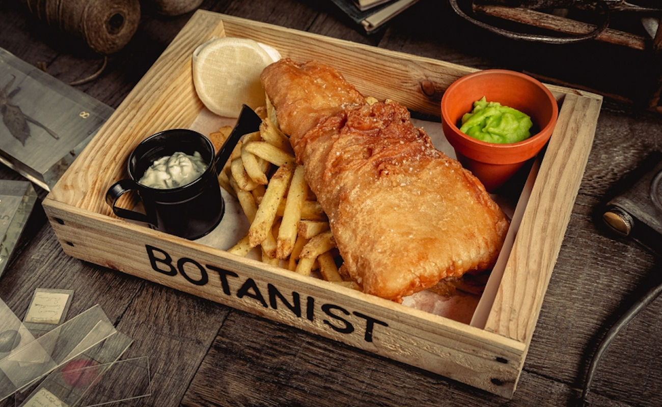 British restaurants in Manchester ~ The Botanist