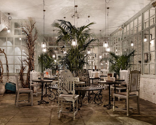 British Restaurants in Manchester - The Botanist Manchester