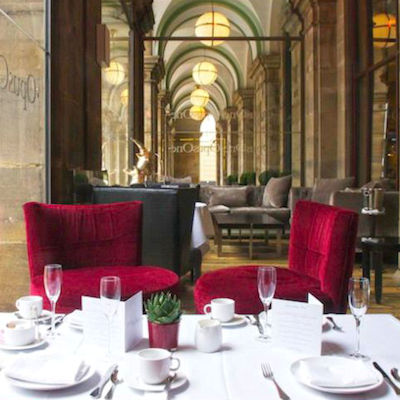 British restaurants in Manchester ~ Radisson Blu Edwardian