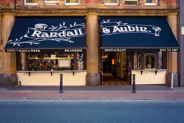 Royal Exchange Restaurants Manchester ~ Randall & Aubin