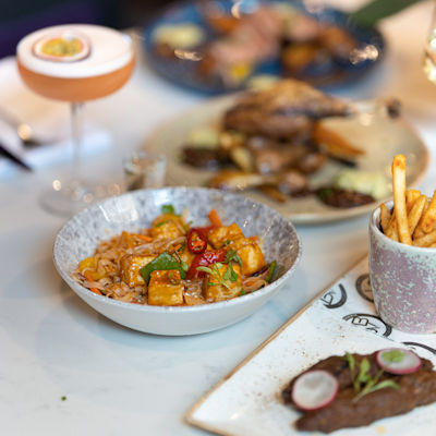 Restaurants in Manchester with Alfresco Dining - Village Brasserie By Velvet