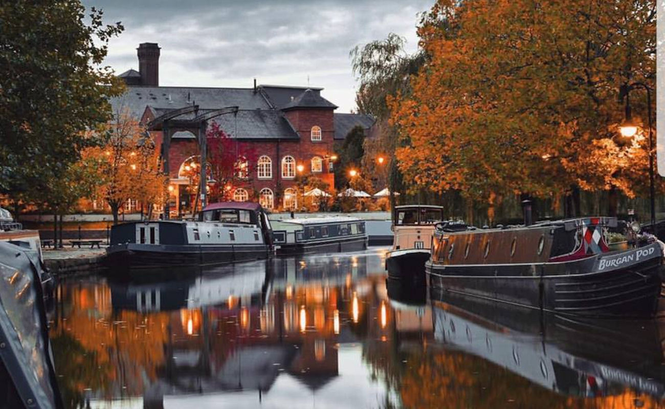 British restaurants in Manchester ~ The Wharf Castlefield
