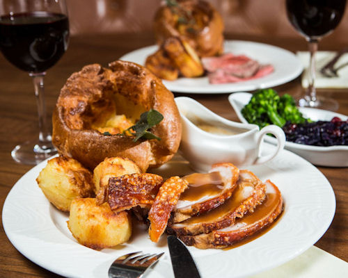 Sunday roasts in Corn Exchange Manchester ~ Corn Exchange Manchester