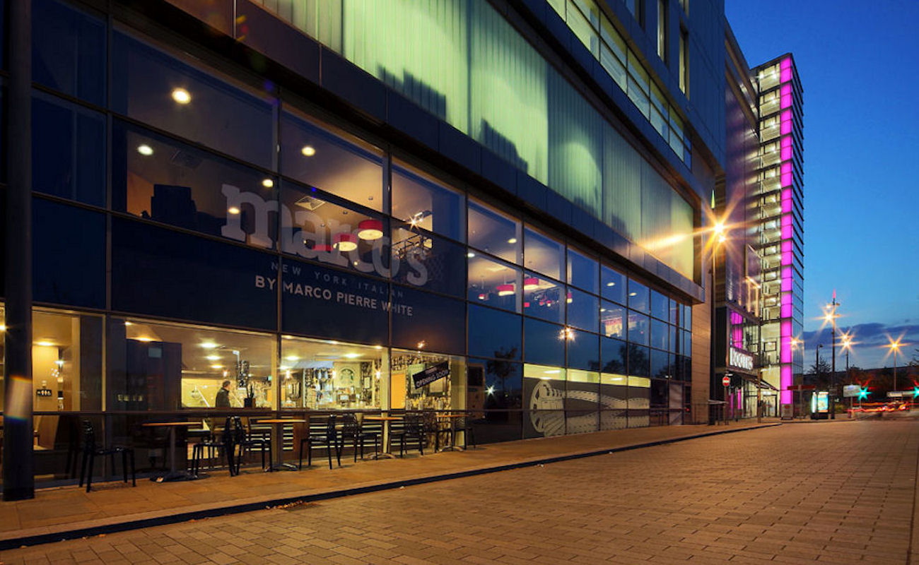 Salford Quays Restaurants near The Lowry ~ Marco's New York Italian Media City UK
