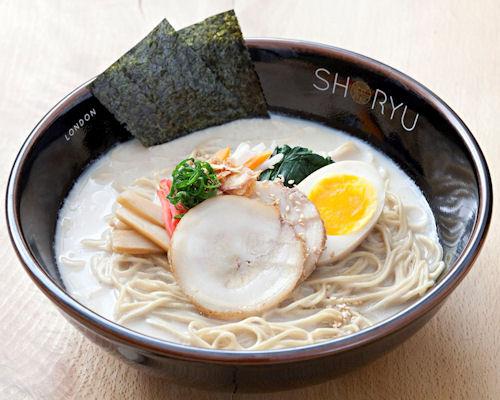 Japanese restaurants Manchester ~  Shoryu Ramen Manchester