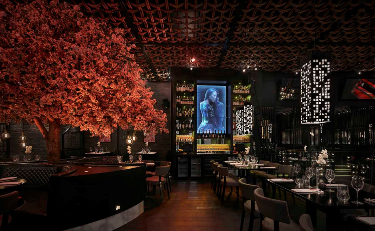 Restaurants near the Opera House Manchester ~ Tattu